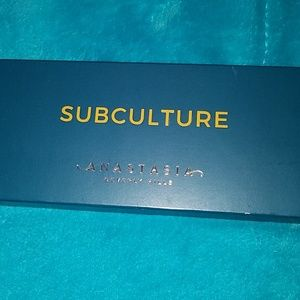 Brand new subculture ABH palette